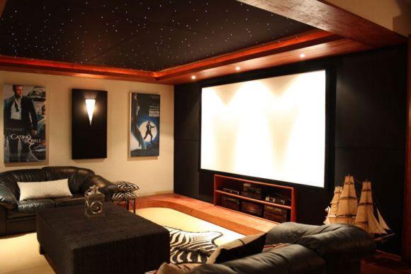 Интерьер домашнего кинотеатра