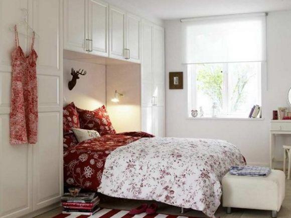 Интерьер очень маленьких спальни