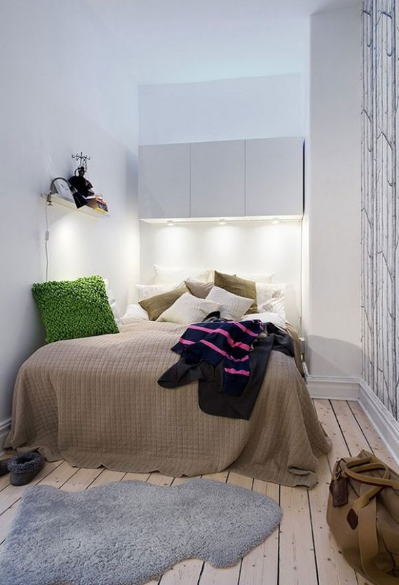 Интерьер спальни 6 кв. м.